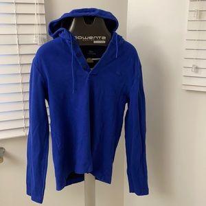 Blue Lacoste pullover sweatshirt